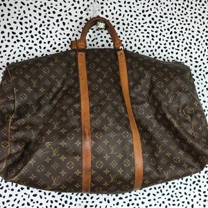 Used Authentic Louis Vuitton Large Duffle Bag